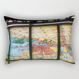A Subway art Rectangular Pillow