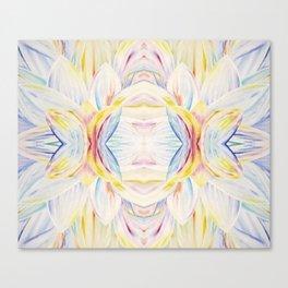 Opal Lotus Canvas Print