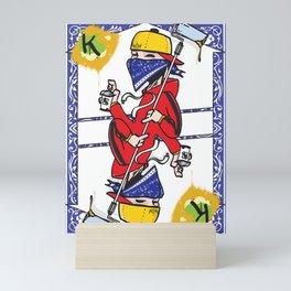 The King Mini Art Print