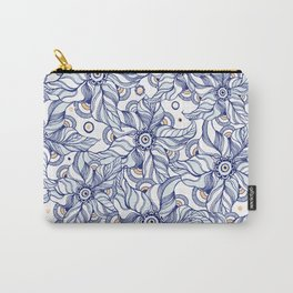 Wild Florals Carry-All Pouch