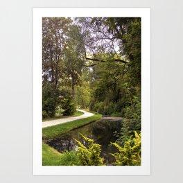 DE - Baden-Wurttemberg : Gardens of Laupheim Art Print