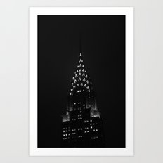 The Chrysler Building  Art Print