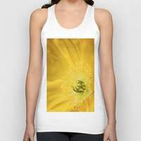 sunshine Tank Tops featuring Sunshine by Kathy Dewar