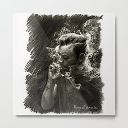 Smoke/1 Metal Print