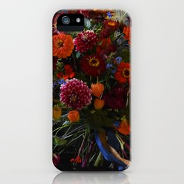 Red & Orange Bouquet iPhone Case
