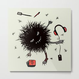 Relax And Rest Lazy Creature Metal Print