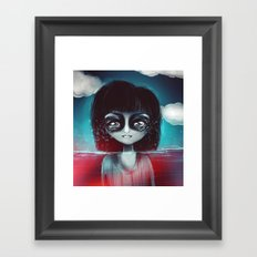 What lies Framed Art Print