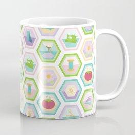 Sewing Quilting Flat Pattern Coffee Mug