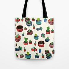 pocket cactus Tote Bag