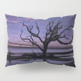 Artistic Driftwood Beach Pillow Sham