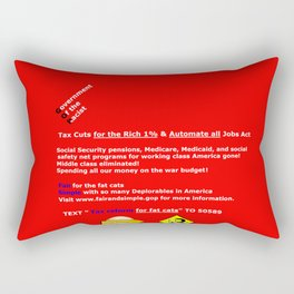 Fair and Simple GOP Rectangular Pillow