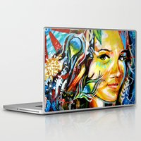 cassandra jean Laptop & iPad Skins featuring Cassandra by Phil Fung