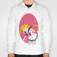 sailor moon Hoodies featuring Sailor Moon by Polvo