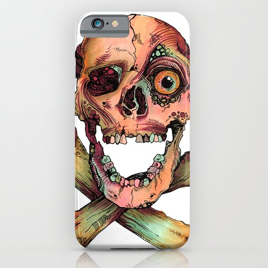 Skull in Color iPhone & iPod Case