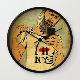 I love New York Wall Clock