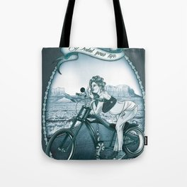 Pedal Your Life Tote Bag
