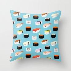 Sushi! Throw Pillow