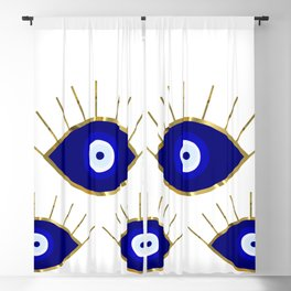 All Evil Eyes on You Blackout Curtain
