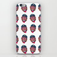 tyler the creator iPhone & iPod Skins featuring Tyler the Creature by kdboiart