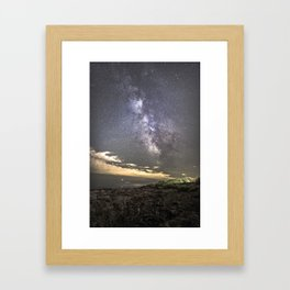Milkyway at the Backshore Framed Art Print