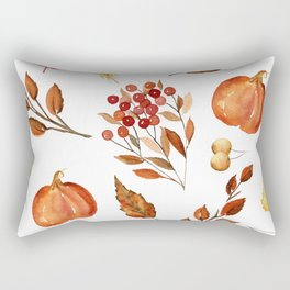 Wheat and Berries Rectangular Pillow