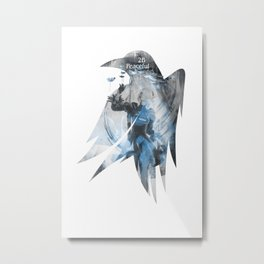 Raven's cloak 2B peaceful sleep Metal Print