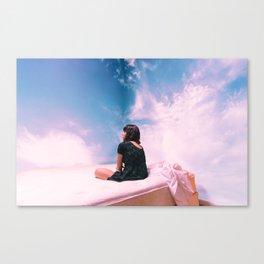 buddah for mary Canvas Print