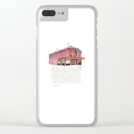 214 The Parade Clear iPhone Case
