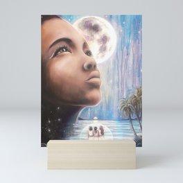 The Moon - Tarot Card Art Mini Art Print