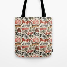 Naughty Words Tote Bag