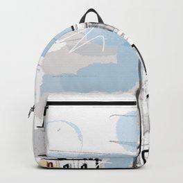 Notre-Dame de Paris - Modern Artwork Backpack