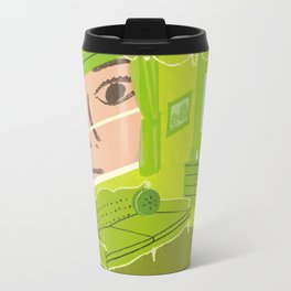 PARIS QUARTIER D'ETE Metal Travel Mug