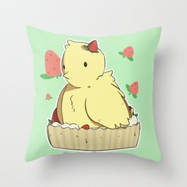 peeptart Throw Pillow