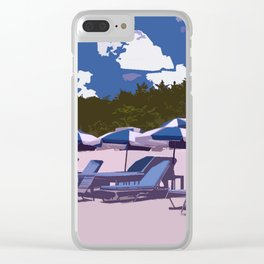 beach side Naples Florida Clear iPhone Case