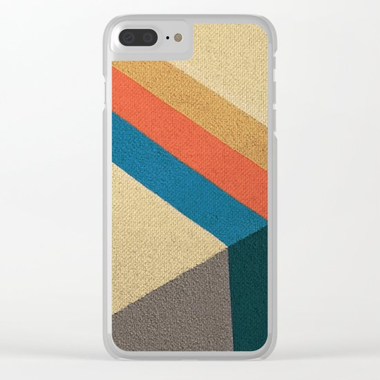 Direction Change Clear iPhone Case