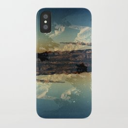 Landscapes c13 (35mm Double Exposure)  iPhone Case