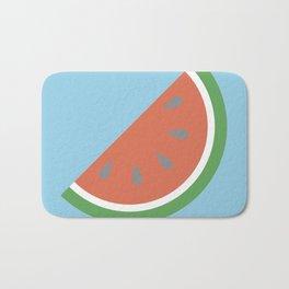 Bright Summer Watermelon Bath Mat