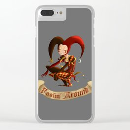 Foolin' Around Clear iPhone Case