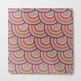 circles pattern Metal Print