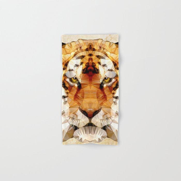abstract tiger Hand & Bath Towel