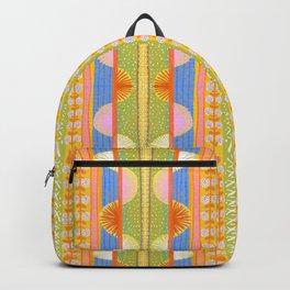Folk Fiesta Pattern Backpack