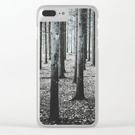 Coma forest Clear iPhone Case