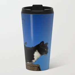 Cat Metal Travel Mug