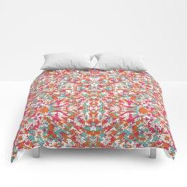 Chaotic Triangle Balance Comforters