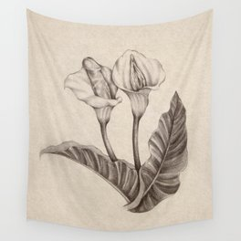 Born Flowers Wall Tapestry