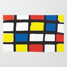 Mondrian Variation 1 Rug