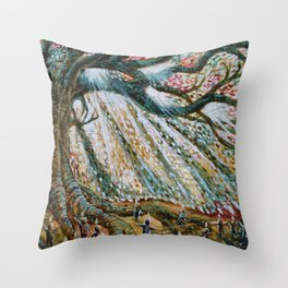 The Children's Tree Of Life #1 Throw Pillow