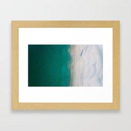 Dream beach Framed Art Print