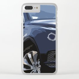 Blue Bentayga Clear iPhone Case