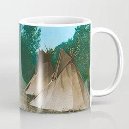 Assiniboine Camp - American Indian Tipis Coffee Mug